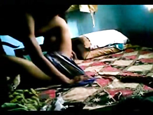 Hot young married couple from Ranchi, India in bedroom, having good time sucking and fucking.