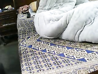 i who gets her pussy drilled sideways position showing her small tits till the guy cums inside her