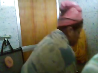 Mallu bhabhi Uttara caught taking shower recorded by her neighbor from toiler window!.