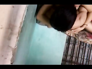 Horny desi wife slurping and sucking husbands cock and giving awesome blowjob and showing tits.