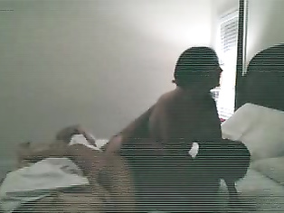 Newly married Indian couple on honeymoon in Thailand fucking after dinner captured by hidden cam fixed by room service.