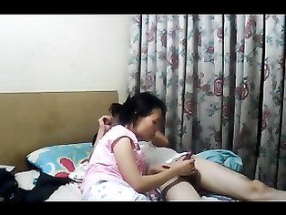 Young Nepali college couple fucking in bedroom unaware of get recorded by hidden cam fixed by their friends.
