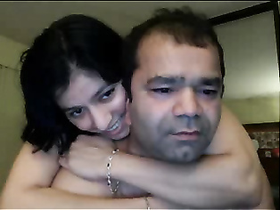 Pavitra kissing passionately before engaged in real hardcore sex