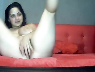 Indian MILF fucked in doggy style by her young boyfriend and jerking him to seduce him hard.