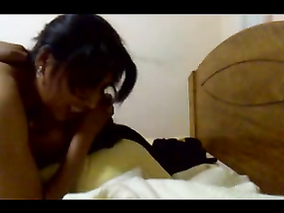 Hyderabadi married couple fucking in privacy on their bedroom unaware of hidden cam in their bedroom!.