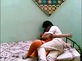 Young couple from Kishangunj, Bihar sex scandal, horny exposing her juicy tits getting ready to get fucked.