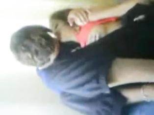 Nepali girls top unzipped by her naughty boyfriend exposing her lovely tits and fondled before massaging her cunt.