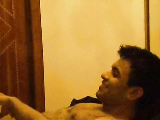 Indian wife lying naked in bed showing sexy ass cheeks