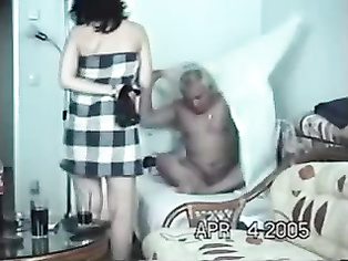 wearing bra panty caught on hidden cam in this video