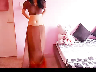 Bhabhi Lesson About Saree - Movies. video3porn3