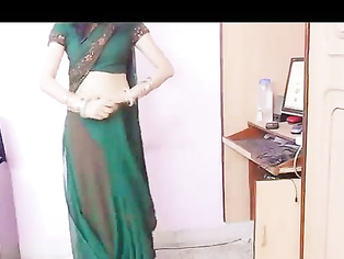 Bhabhi Lesson About Saree - Movies.