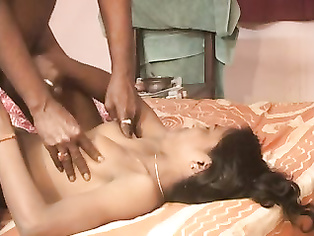 Big boob Indian bhabhi jumping on her hubby cock