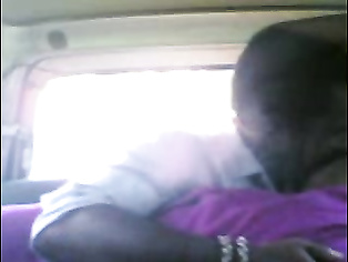 Cute south Indian girl with her boyfriend in car getting her juicy tits fondled and fucked hard at back seat.