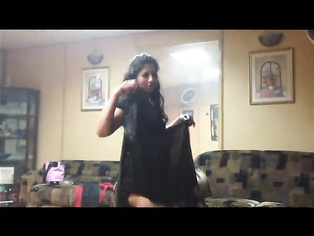Seductive Pakistani housewife dancing in two piece in front of her hubby and get recorded.