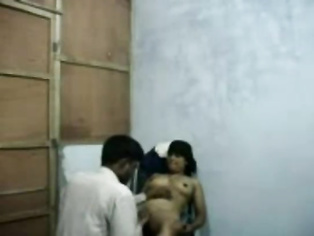 Horny bangla guy sucking juicy tits of hot girlfriend while she sucks his dick and balls during sex foreplay and fucked on a chair and seducing.