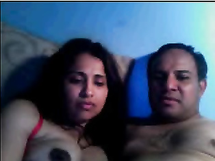 Indian couple on live sex cam show fucking hard to show off to public how active they are in bedroom!.