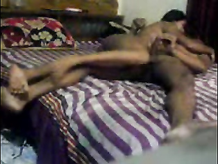 Horny desi boyfriend kissing and fucking his petite girlfriend on the floor enjoying her lovely tits till he cums in the end of this awesome MMS.