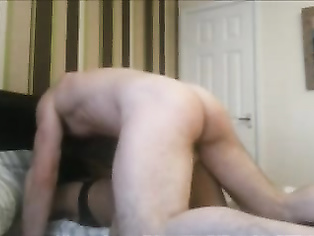 UK based Indian bhabhi fucked by her gora boyfriend in absence of hubby out for work in her bedroom in various style.