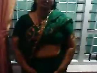 Bhabhi In Green Saree - Movies.