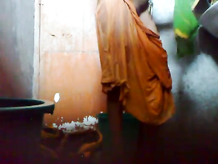 Bangla bhabhi homemade shower.