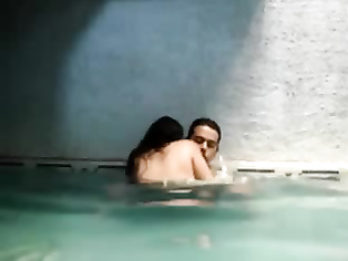 Newly Wed Couple In Pool - Movies. video2porn2