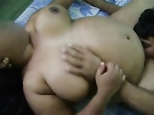 Next door horny Indian bhabhi Kulwant from Chandigarh giving blowjob to her young boys in absence of her man out for work and getting her pussy licked to cool her sexual itch down.