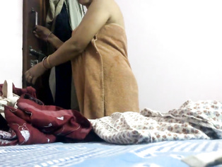 Desi Home Made Sex Couple Seducing Each Other Desires.