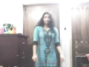 Sexy Dhaka girlfriend Tanzila with her boyfriend in bedroom in traditional outfits force to get naked