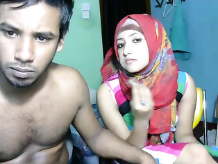 Hot Bengali Girl is Crazy about White Dick