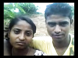 Tamil Couple Outdoor Enjoyment - Movies.