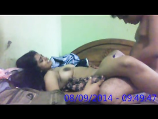 Famous Lucknow couple Naina and Kishore sharing intimate moments. video2porn2