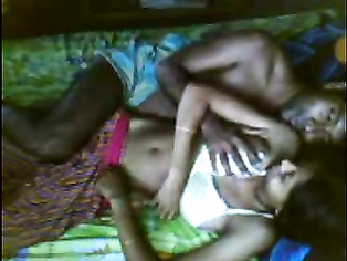 North Indian wife guiding her husbands cock into her cunt getting fucked missionary style till her hubby cums on her ass cheeks in this MMS.