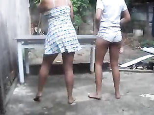 Indian Babe Dancing In Open - Movies.