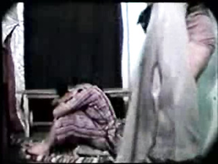 Cute shy Indian girl in shalwar suit down with her panties pulled down getting fucked in missionary style showing her lovely ass cheeks squealing in pleasure and moaning and asking her boyfriend to stop fucking as feeling much pain.