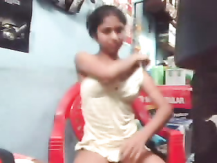 Horny mature Indian men fucking his young next door girl by showing him a porno movie and pressing her boobs to make her wet and hot and fucked hard in this much watch mms.