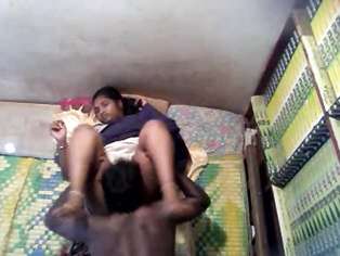 Kerala school girl showing lovely big boobs and clean shaven pussy while getting fucked by horny school teacher till he cums inside and getting shot by hidden camera in this must watch MMS.