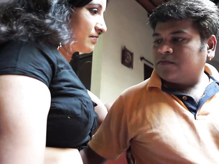 Softcore movie of unfaithful Indian wife cheated her husband having an affair with her neighbor in his absence!.