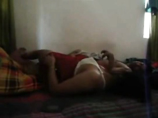 Desi aunty showing her lovely ass cheeks while riding and sucking cock then enjoying cunnilingus in this sex video.