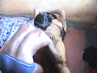Konika bhabhi tripping naked showing her lovely tits and then guiding her hubby cock into her hairy cunt