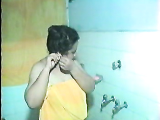 Tamil Aunty In Shower - Movies.