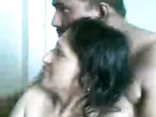 Lahoe Mature Hira Mandi couple enjoying group sex in their room.