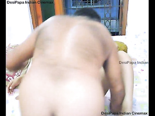Desi girl from Ludhiana talking on the phone while showing her tits and panty cleaning and sucking