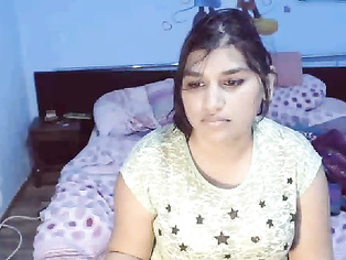 Chubby Indian babe Roshnie once agian back with action.