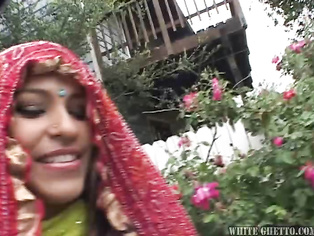 this is my first video of black cuckold with indian wife