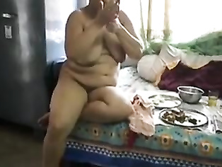 Busty desi aunty smoking nude hot sex with neighbor.