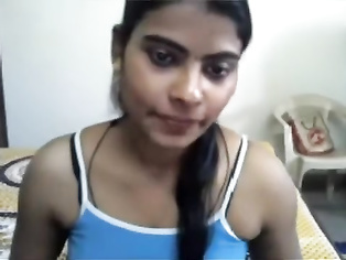 Hot Tamil Girlfriend Kavitha on Webcam.