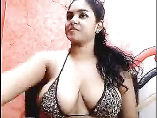 Mumbai law student Monica performing as a camgirl.