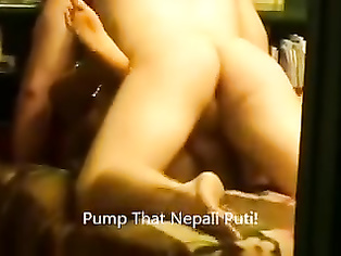 Nepali Bindu Pariyar Eats Cum In Dallas.