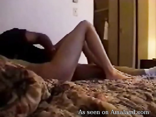 Desi couple enjoys making private video.