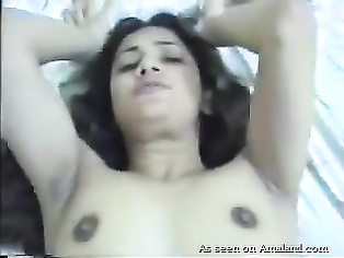 Fucking hot Indian GF in her smooth pussy and tight ass.